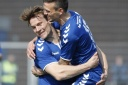 Tom Søjberg ryster posen mod FC Fredericia